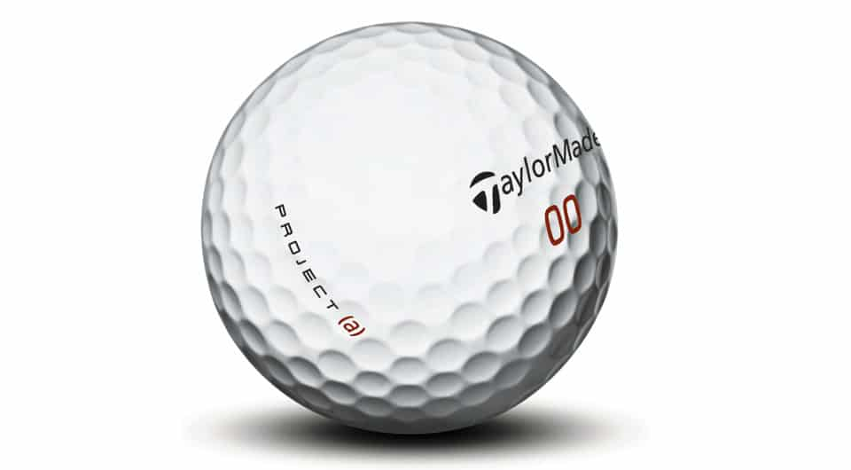 Image of a Taylormade Project (a) golf balls.