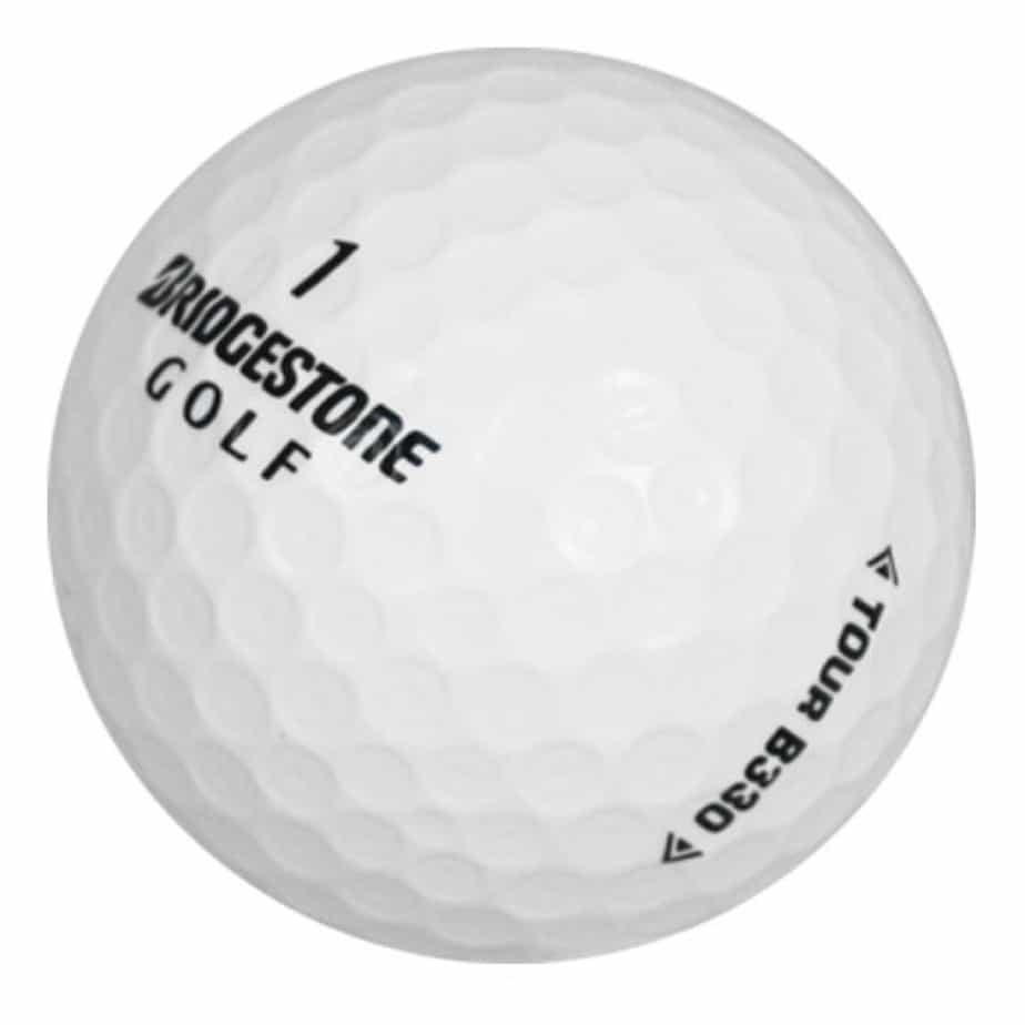 Image of Bridgestone Tour B330 golf ball. Best golf ball for the money.