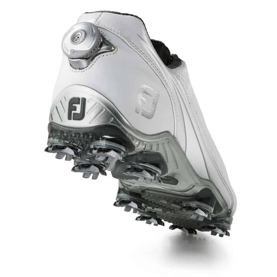Image of the back and dial of the Footjoy DNA Boa. The best golf shoes.