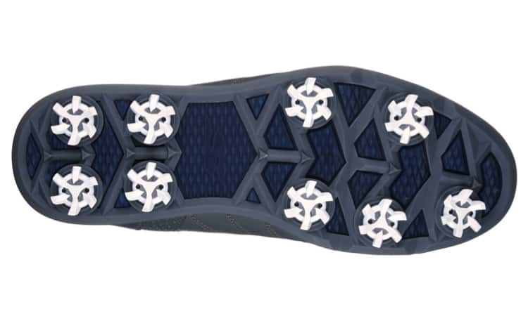 Image of the bottom of the Skechers Go Golf Pro 2 golf shoe. Best golf shoe for comfort.